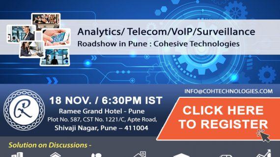 Pune Roadshow 18th Nov. 17